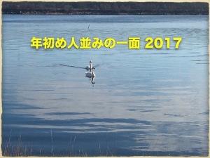 年初め人並みの一面 2017